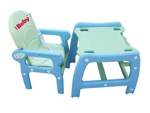 Детский стульчик для кормления iBaby 5в1 (бело-розовый) - Стульчики для кормления-Товары для детей-Интернет-магазин sheah.sh